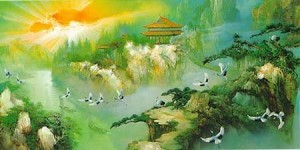 Another Chinese mural